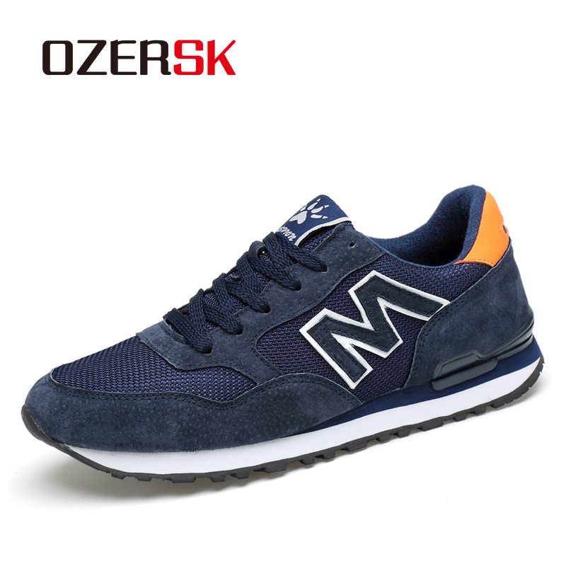 Ozersk 2020 nova venda quente causal sapatos para homem tênis ao ar livre respirável confortável verão diário casual sapatos lisos
