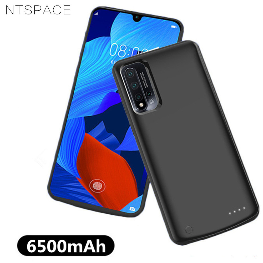NTSPACE 6500mAh External Battery Case for Huawei Nova 5 Pro Power Bank Charging