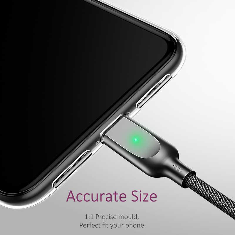 USAMS TPU ケース iphone XR X XS 最大透明電話ケース iphone 7 8 6 5s 、 se 11 プロマックス超薄型バック電話カバー Coque
