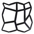 1 шт. практичный новый путь производитель плесень многоразовый Бетон цемент камень дизайн асфальтоукладчик ходьба плесень многоразовые