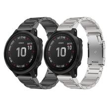 Bracelet de montre pour Garmin Fenix 6 Fenix 6 Pro Fenix 5 Fenix 5 plus Bracelet en alliage de titane 22mm Bracelet de montre pour fenix 6