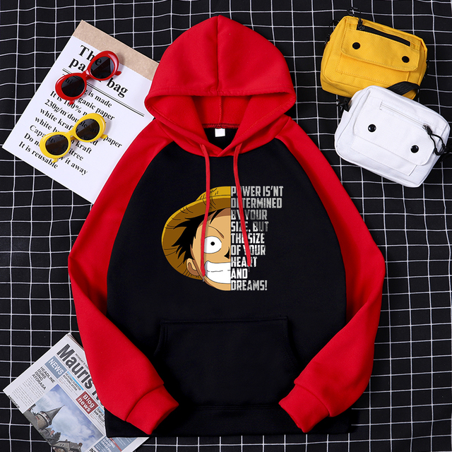 ONE PIECE THEMED HOODIE (7 VARIAN)