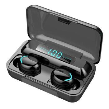 Wireless Headphones TWS Bluetooth 5.0 9D Stereo Wireless Earphones Sports Waterproof Headsets Mini E