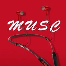 Magnetic Bluetooth Earphone Sport Wireless Headphones Neckband Music Headset Handfree