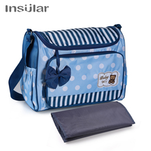 Cartoon Fashion Single Shoulder Slant Mommy Bag Multifunctional Large Capacity Outgoing for Mothers and Babies