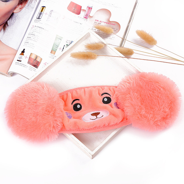 Kids Earmuffs Mouth Mask Windproof Mouth-Muffle Anti Dust Winter  Children Anti Haze Flu Cotton Face Cover Earmuffs 4