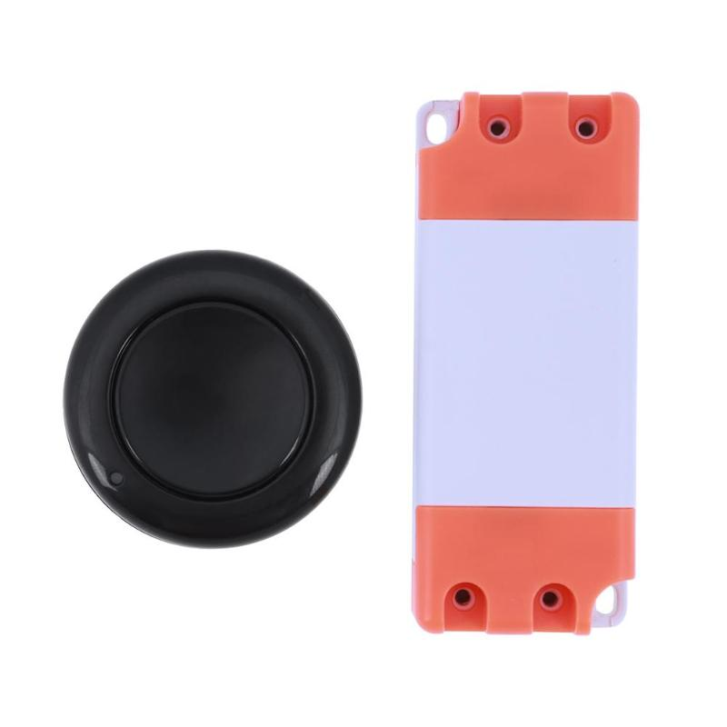 Home Wireless Remote Control Switch Single-key Circular Remote Controller AC85-250V/DC15-120V Family Intelligence System