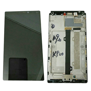 For Lenovo Vibe Z2 K920 Mini LCD Touch Panel Screen Glass Digtizer Replacement Display Sensor Assembly Complete Frame