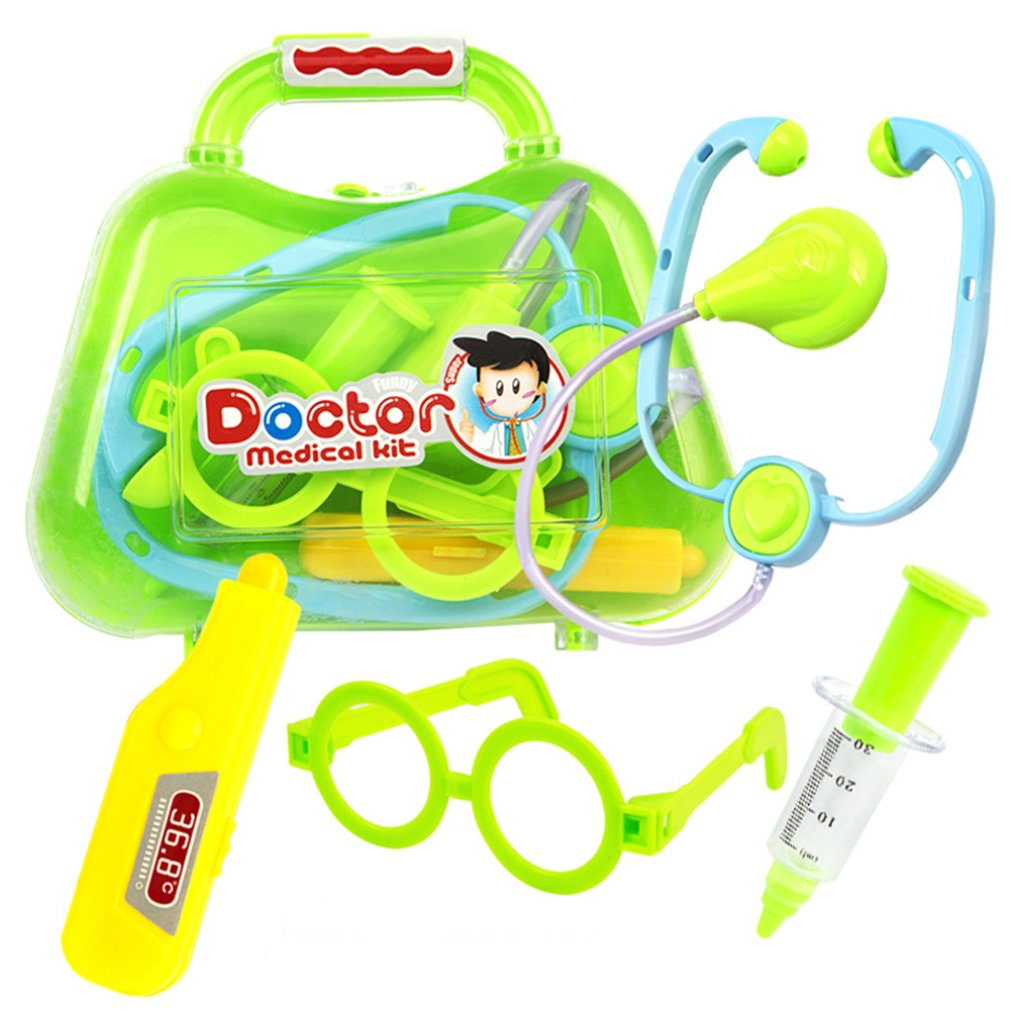 Bright Color Children Kids Cosplay Doctor Toys Set Funny Educational Simulation Medicine Suit Toys Best Gifts image
