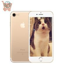 Apple iphone 7 smartphone local da ue, 4g lte, 32/128gb/256gb, ios, câmera de 12.0mp apple phone, quad-core, impressão digital, câmera 12mp