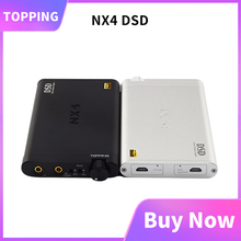 Topping NX4 DSD AMP DAC ES9038Q2M XMOS XU208 หูฟังAMP DAC USB DSD512 decording HIFIหูฟังAMP