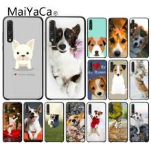 MaiYaCa Jack Russell Terrier Dog Soft Silicone TPU Phone Cover for Huawei enjoy 7s 8 7 plus 8E 9 9E 9 10 PLUS Mobile Cover(China)