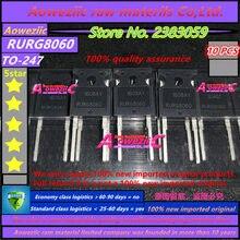 Aoweziic 100% ใหม่นำเข้าเดิม RURG8060 247 Fast การกู้คืน rectifier ไดโอด DIODE 600V 80A