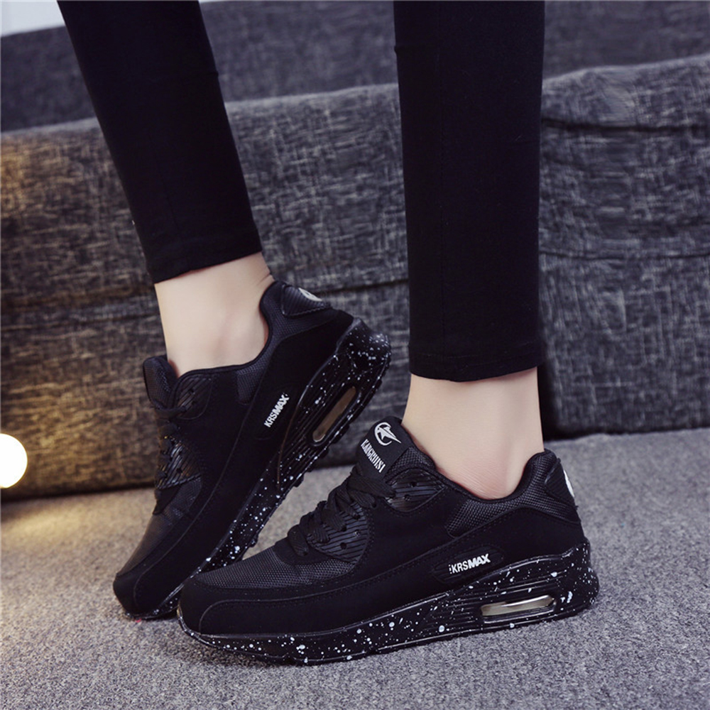 2019 New Designer Korean White Platform Sneakers Casual Shoes Women Fashion Tenis Woman Footwear Basket Black White Women Shoes