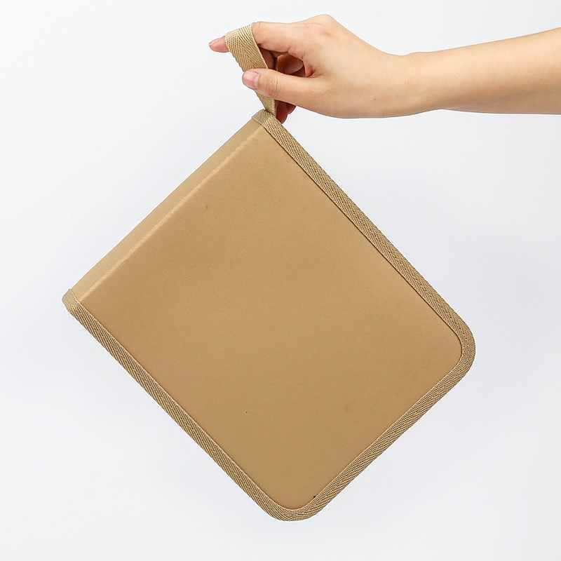 ผ้าใบ Penal 36/48/72 หลุมดินสอโรงเรียนสำหรับสาวเด็กกล่องปากกาขนาดใหญ่พับ Pencilcase ตลับหมึกขนาดใหญ่กระเป๋ากระเป๋าเครื่องเขียน