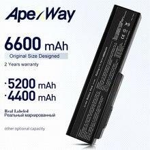 11,1 V Аккумулятор для ноутбука Asus N53SV N53 N53S N53J N61 N61D N61J N61V M50 M50S M50V M50SA M50SV A32-N61 A32-M50 L062066 6600 мА-ч