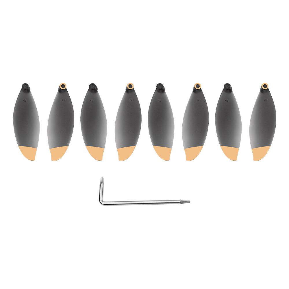 8pcs Propeller Props For Parrot Anafi 4K Camera Drone CW CCW Replacement Accessory Spare Parts Wing Fans Blade With Tool Kits