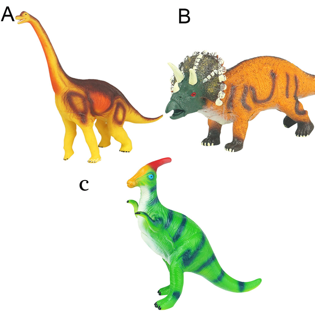 Educational Simulated Dinosaur Model With Sound Kids Children Toy Dinosaur Gift Simulation Squeeze Dinosaur Toy L102