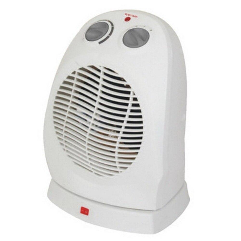 Ventilateurs de chauffage électrique oscillant à la maison droit 2kw Thermostat réglable 220V réchauffeur électrique d'hiver réchauffeur de bureau prise ue
