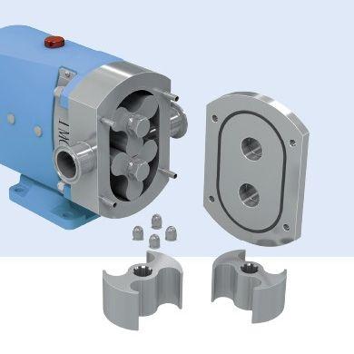Stainless Steel High Quality Series Honey Pump High Viscous Pump Rotary Lobe Pump