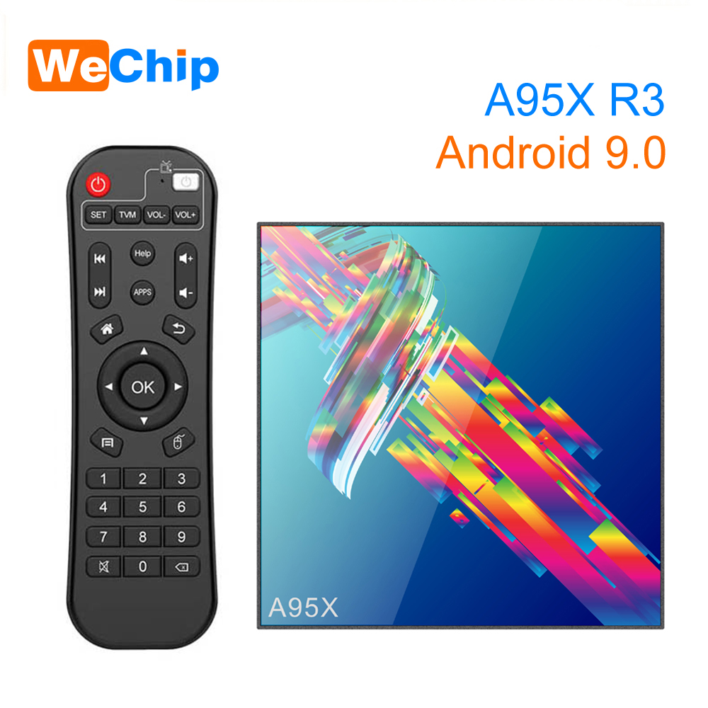 Tv-Box Android 2g16g-Player A95x R3 RK3318 VP9 Wireless Bluetooth 4G Dual-Wifi 4k-Set