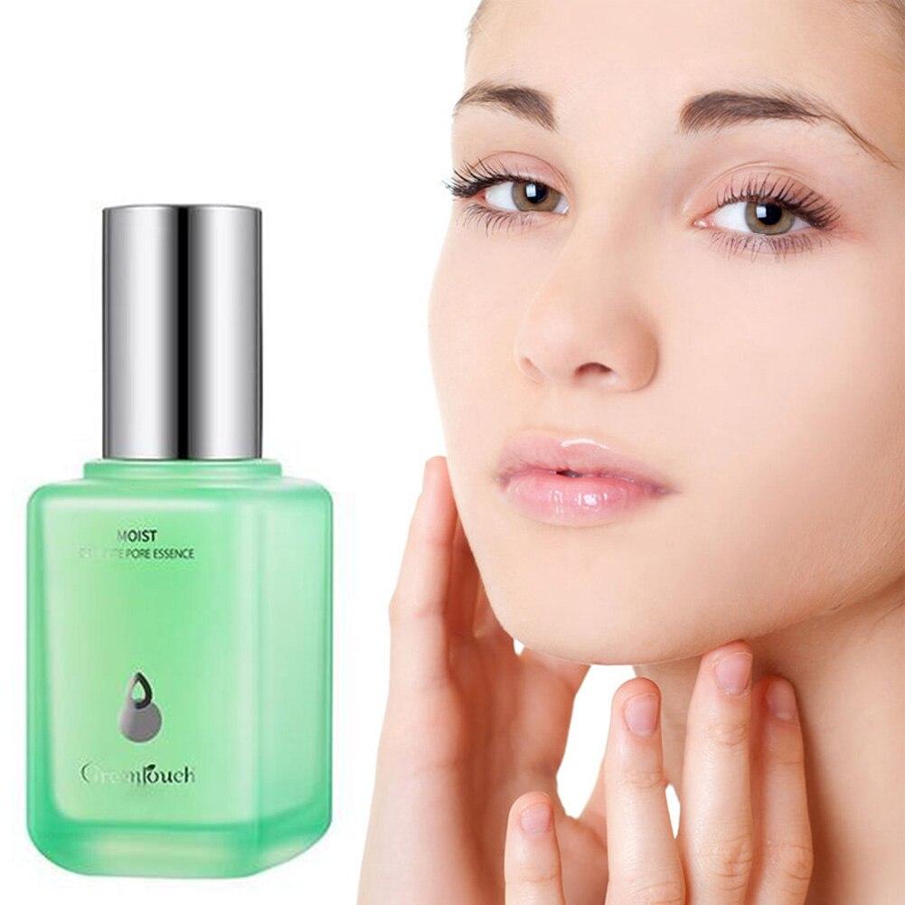 greenlouch poro espartilho soro poro aperto essencia limpeza profunda cuidados com a pele produtos de melhoria