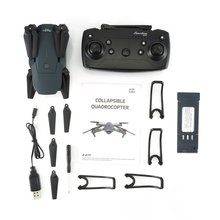 цена на LX808 2.4Ghz WIFI FPV Foldable RC Drone With Wide Angle HD Camera Altitude Hold Headless Mode RC Model Aircraft RTF