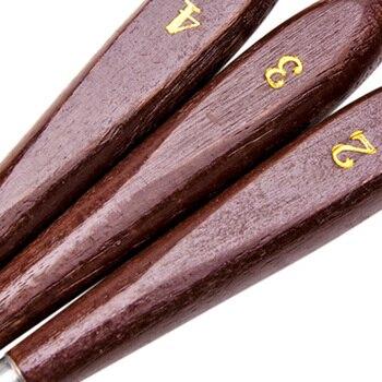 أدوات إزالة طباعة ثلاثية الأبعاد مع مقبض خشبي قوي طبيعي ، مجموعة أدوات للطابعة ثلاثية الأبعاد ملعقة لوحة سكين ، 6 حزمة