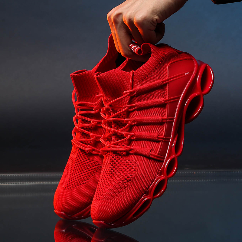 New Blade Shoes Fashion Breathable Sneaker Running Shoes 46 Large Size Comfortable Sports Men's Shoes 47 Jogging Casual Shoes 48 5