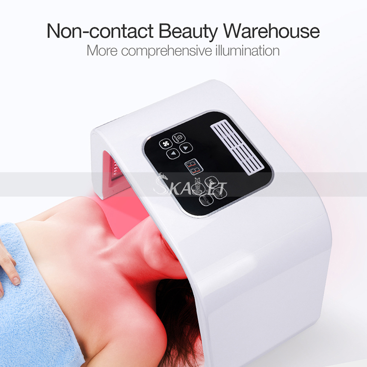 Non-invasive Unisex 7 Colors LED Skin Care Acne Scars Reducing Light Machine For Home/Salon Use