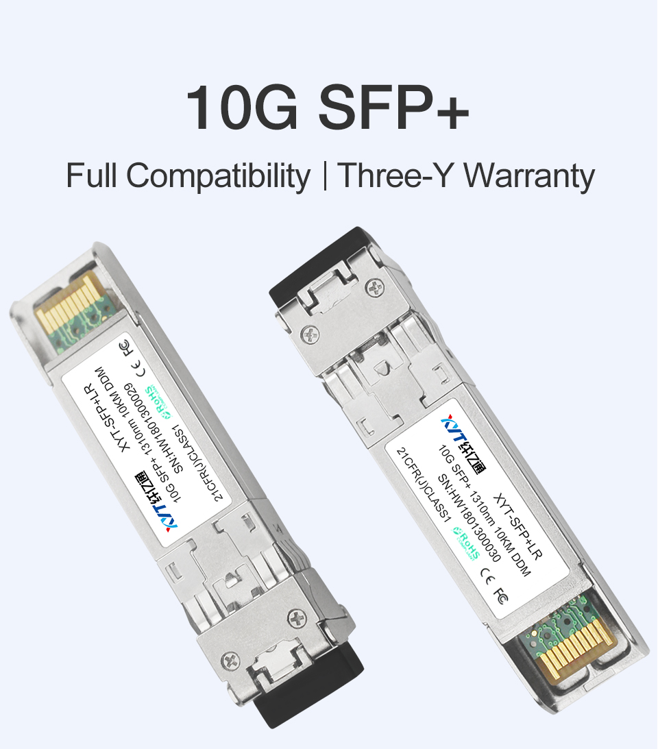 Customized Product Of CWDM SFP And WDM SFP 40KM