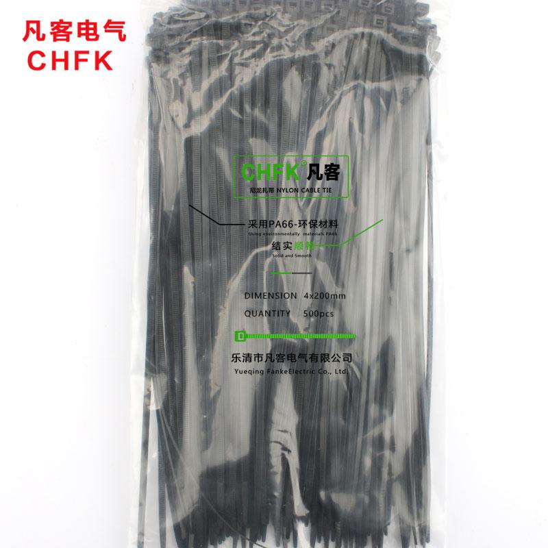 100 x Black Cable Ties 4.8mm x 300mm Tie Wraps Zip Ties High Quality Nylon 66