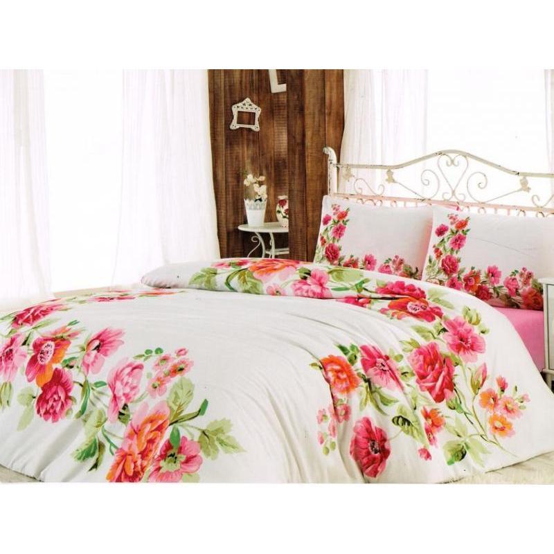 Bedding Set double-euro cottonbox, Fixe Line, White цена в Москве и Питере