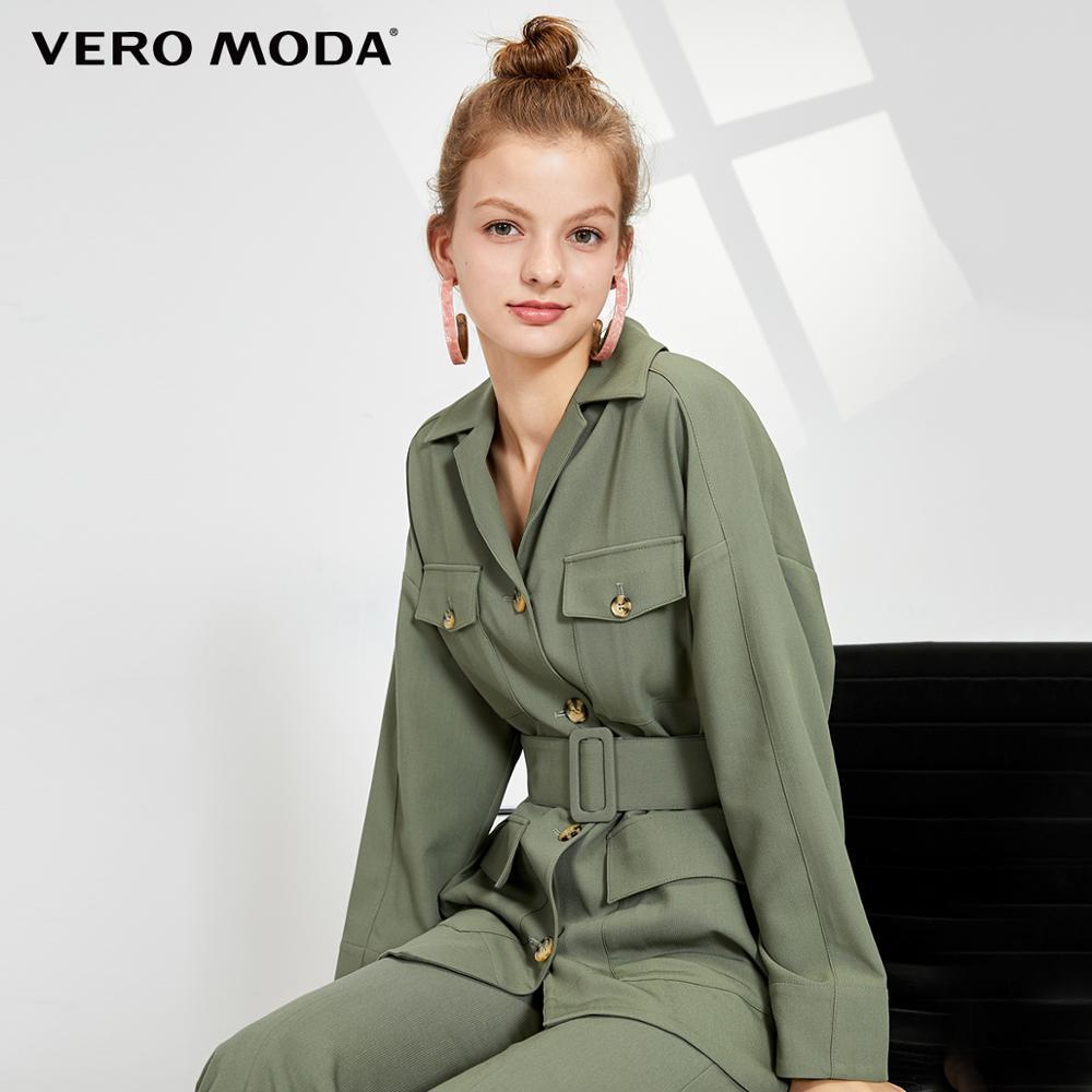 Vero Moda Women's Vintage Style Mid-length Lapel Blazer   319308592