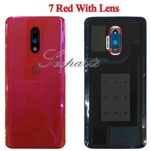 Image 5 - Originele Case Voor Oneplus 7 Pro Batterij Cover Terug Achterklep Behuizing Vervangende Onderdelen Voor Oneplus 7 Pro Terug behuizing