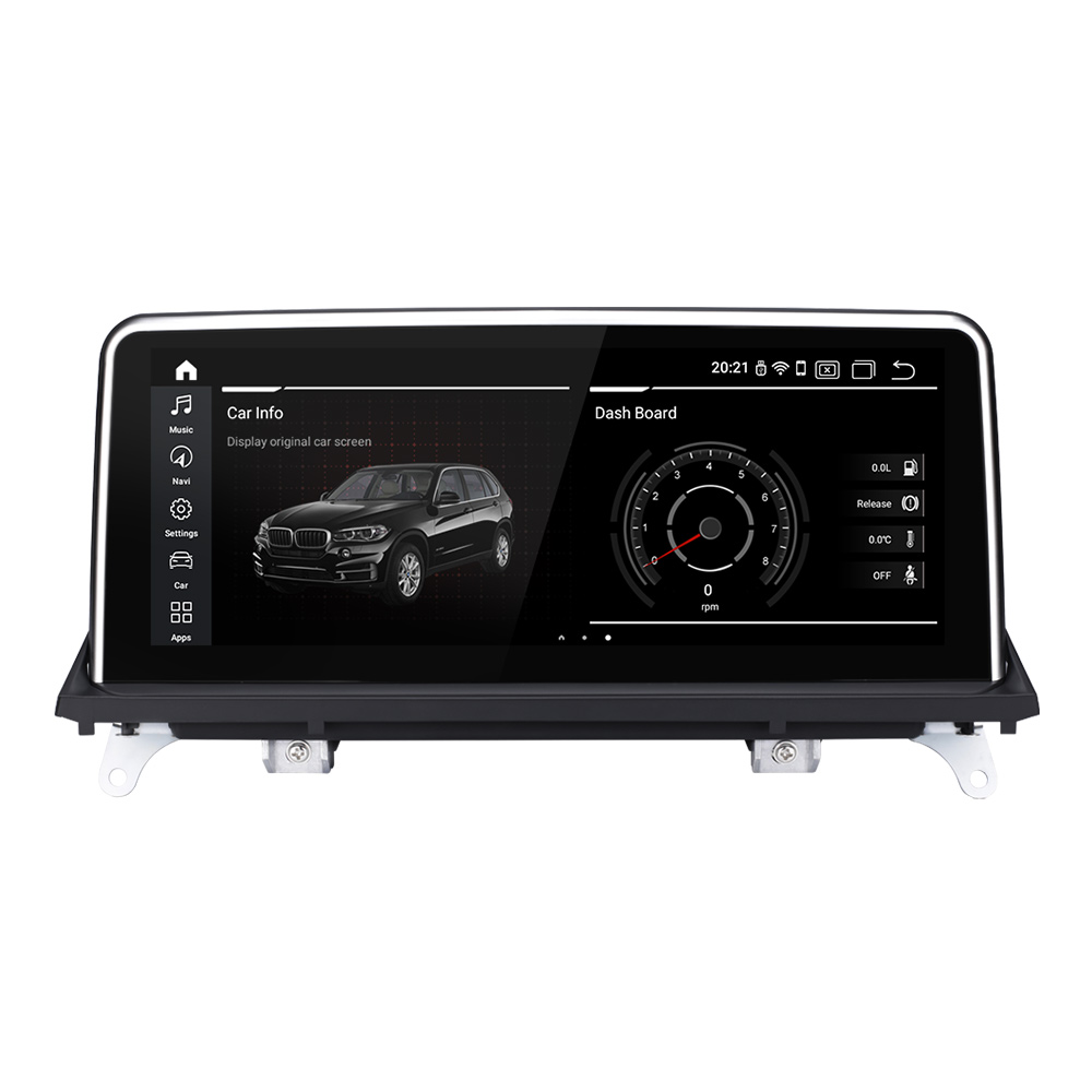 EBILAEN Android 10,0 Auto-Multimedia-Player für BMW X5 E70/X6 E71 (2007-2013) CCC/CIC System Einheit PC Navigation Autoradio IPS 4G