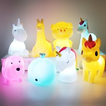 Sweet and Cute Stars Moon Clouds Unicorns Night Lights Feeding Lights Children's Room Decoration Gifts Night Lights Kids Toys