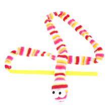 Interactive-Toy Feather-Wand Funny-Stick Ring-Ball Snake-Shape Pet-Cat Soft Rainbow