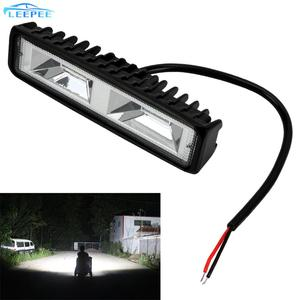 Image 1 - 안개 램프 12 24V 36W 자동 오토바이 트럭 보트 트랙터 트레일러 Offroad 작업 빛 LED 작업 빛 스포트 라이트 LED 헤드 라이트