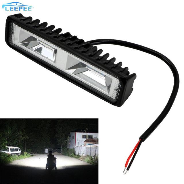 안개 램프 12 24V 36W 자동 오토바이 트럭 보트 트랙터 트레일러 Offroad 작업 빛 LED 작업 빛 스포트 라이트 LED 헤드 라이트