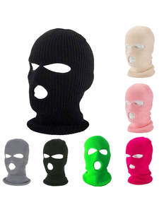 Hat Winter Masks Cover Balaclava-Mask Halloween-Caps Bicycle Party Pink Green