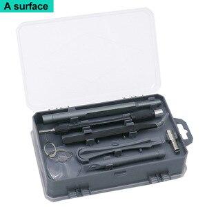 Image 4 - Juego de destornilladores 112 en 1, Mini destornillador eléctrico de la precisión adecuado para teléfono móvil, tableta, PC, utensilio doméstico