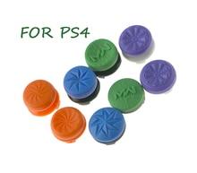 2PCS החלקה סיליקון Thumbstick ג ויסטיק גריפ עלייה גבוהה כובע מכסה מרחיבי עבור Sony PlayStation4 PS4 בקר