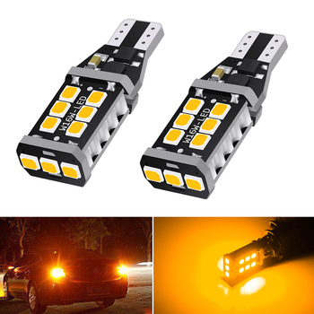 2pcs led Canbus 921T15 W16W Car Backup Reverse Bulb Lights for BMW E60 E90 Ford Fusion Focus 2 3 Audi A3 A4 B6 B8 VW Passat B7 image