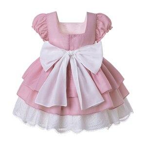 Image 2 - Pettigirl, venta al por mayor, Boutique de verano, fiesta de cumpleaños, vestido de flores para niña bebé con diadema, G DMGD203 D63