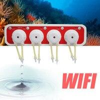 1pc WiFi Dosing Pump Automatic Marine Doser Remote Control Programmable for Marine Reef Aquarium