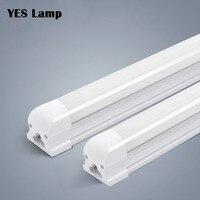 10 個の LED チューブ T5 T8 統合ライト 1FT 2FT 3FT 4FT 6 ワット 10 ワット 20 ワット 36 ワット LED 蛍光管壁ランプ電球ライトランパラ 110V 220V