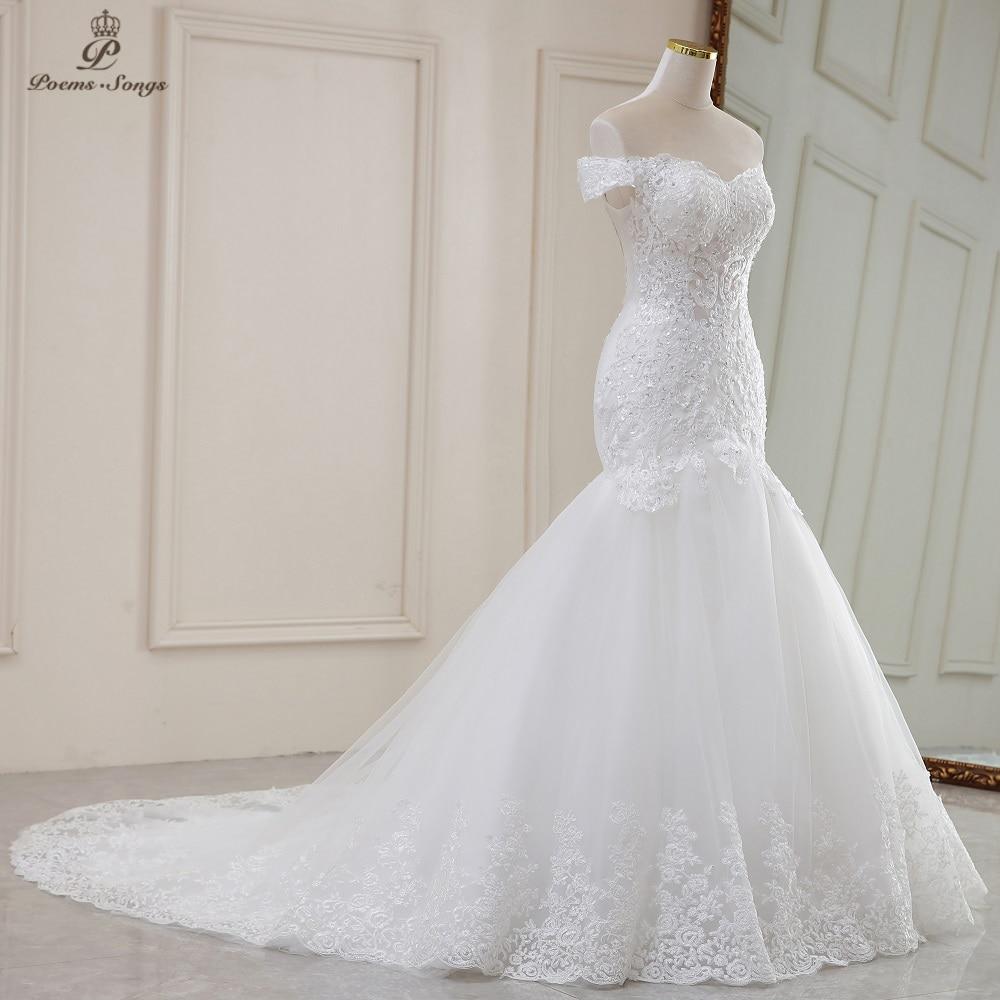 Luxury Sexy style mermaid wedding dress 5