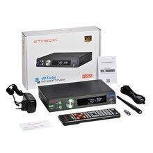 1080P GTmedia V8 Turbo satellite receiver DVB same GTmedia V8 Turbo DVB-S2 decoder Freesat V9 Super H.265 Built in Wifi No app