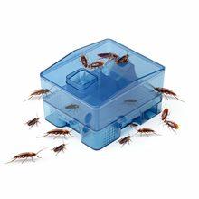 Xiaoqiang-caja de exterminio de cucarachas, casa de cucarachas en polvo, artefacto de cocina, interior, polvo, señuelo, atrapamoscas